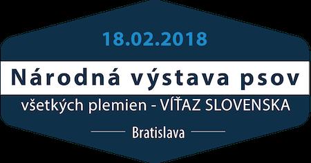 Národná výstava psov Bratislava 18.2.2018